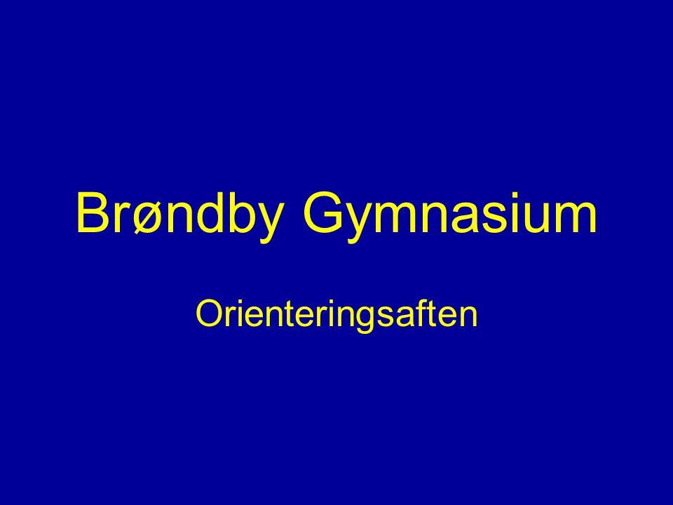 Orienteringsaften Brøndby Gymnasium