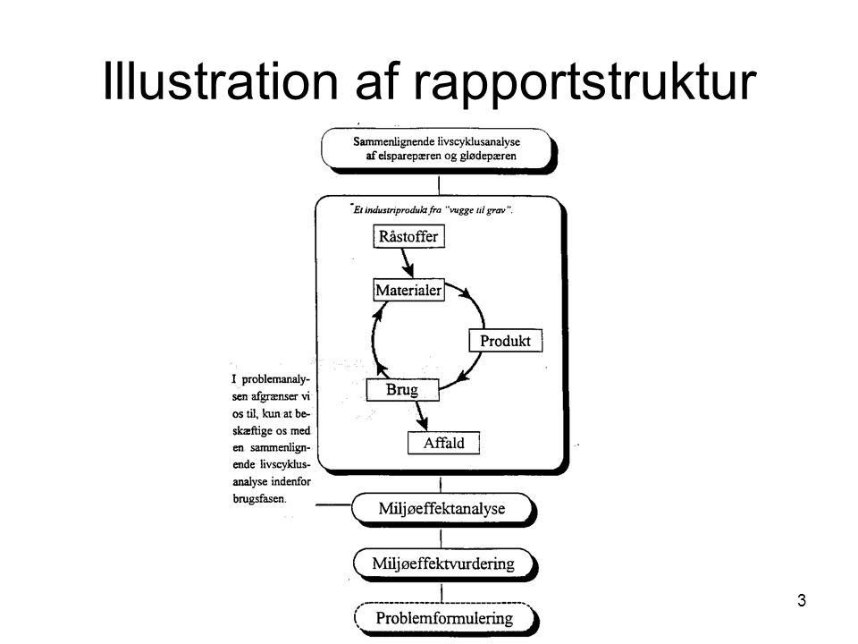 3 Illustration af rapportstruktur