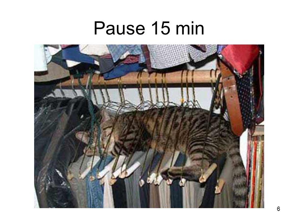 6 Pause 15 min