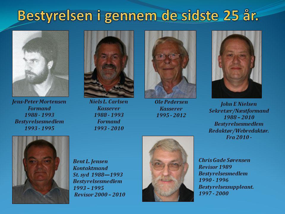 Jens-Peter Mortensen Formand 1988 - 1993 Bestyrelsesmedlem 1993 - 1995 Niels L.