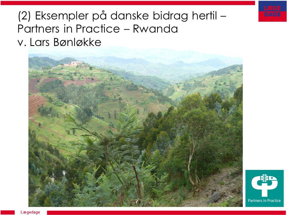 Lægedage (2) Eksempler på danske bidrag hertil – Partners in Practice – Rwanda v. Lars Bønløkke