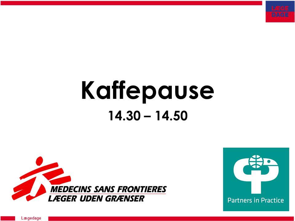 Lægedage Kaffepause 14.30 – 14.50
