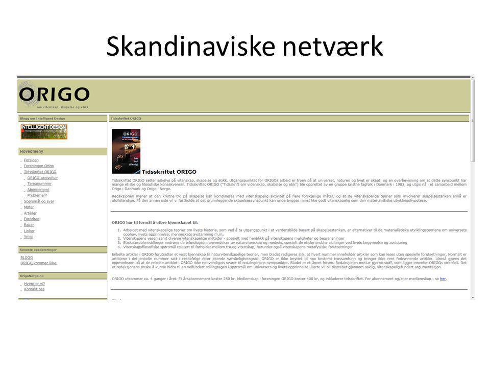 Skandinaviske netværk