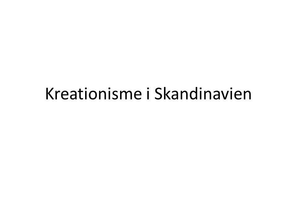 Kreationisme i Skandinavien