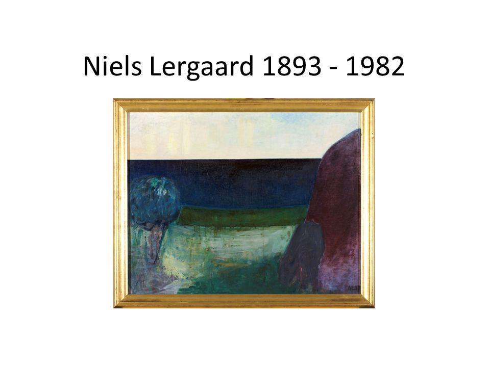 Niels Lergaard 1893 - 1982