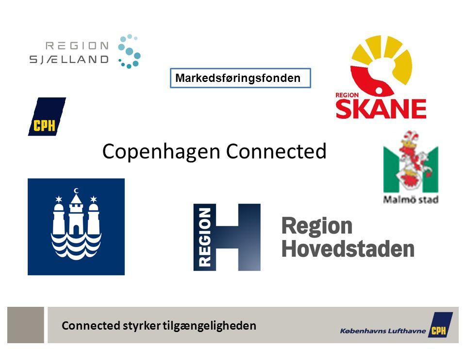 Connected styrker tilgængeligheden Copenhagen Connected Markedsføringsfonden