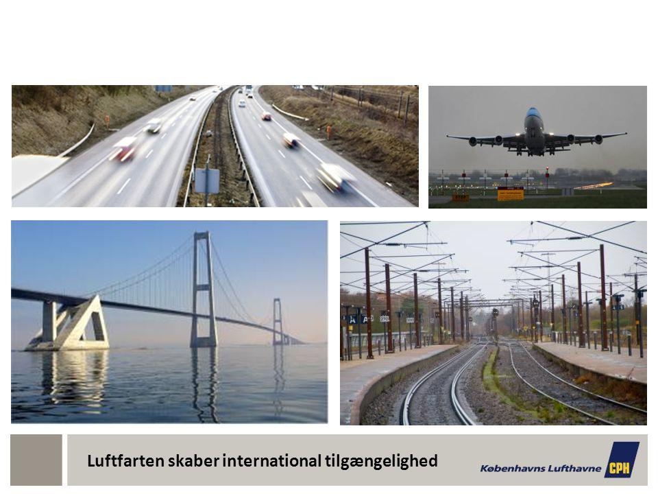 Luftfarten skaber international tilgængelighed