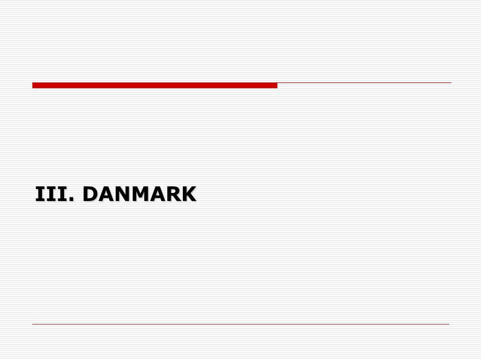 III. DANMARK