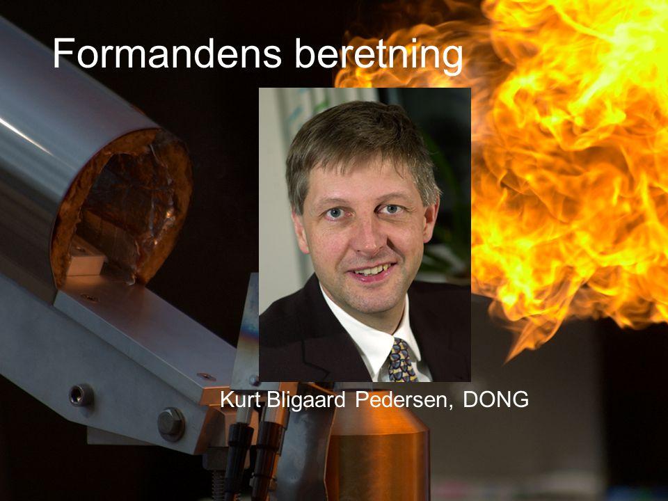 Formandens beretning Kurt Bligaard Pedersen, DONG