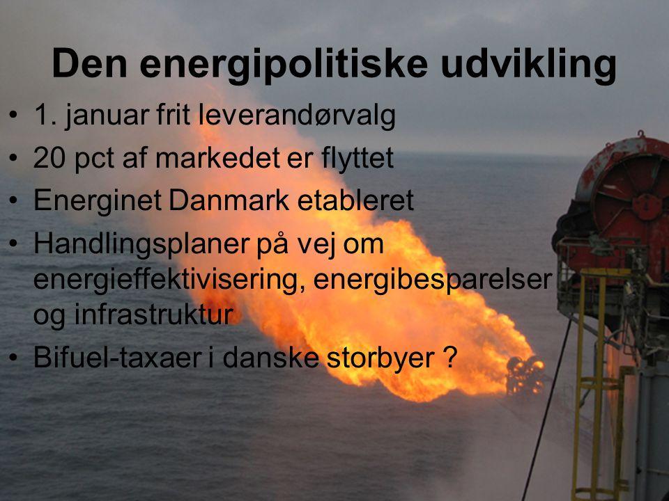 Den energipolitiske udvikling 1.