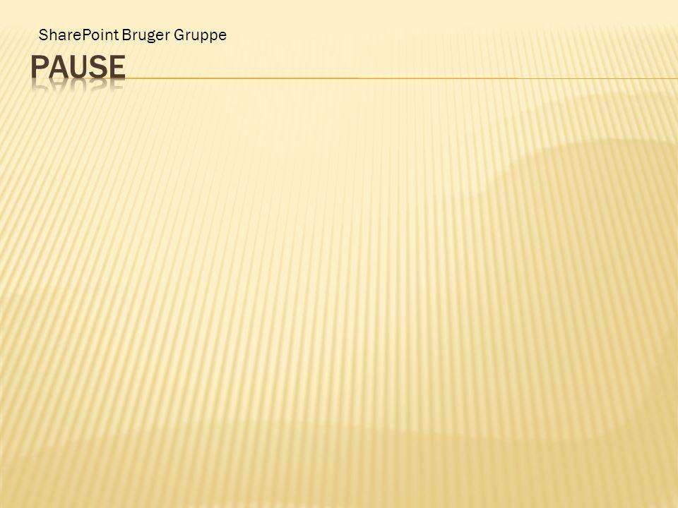 SharePoint Bruger Gruppe