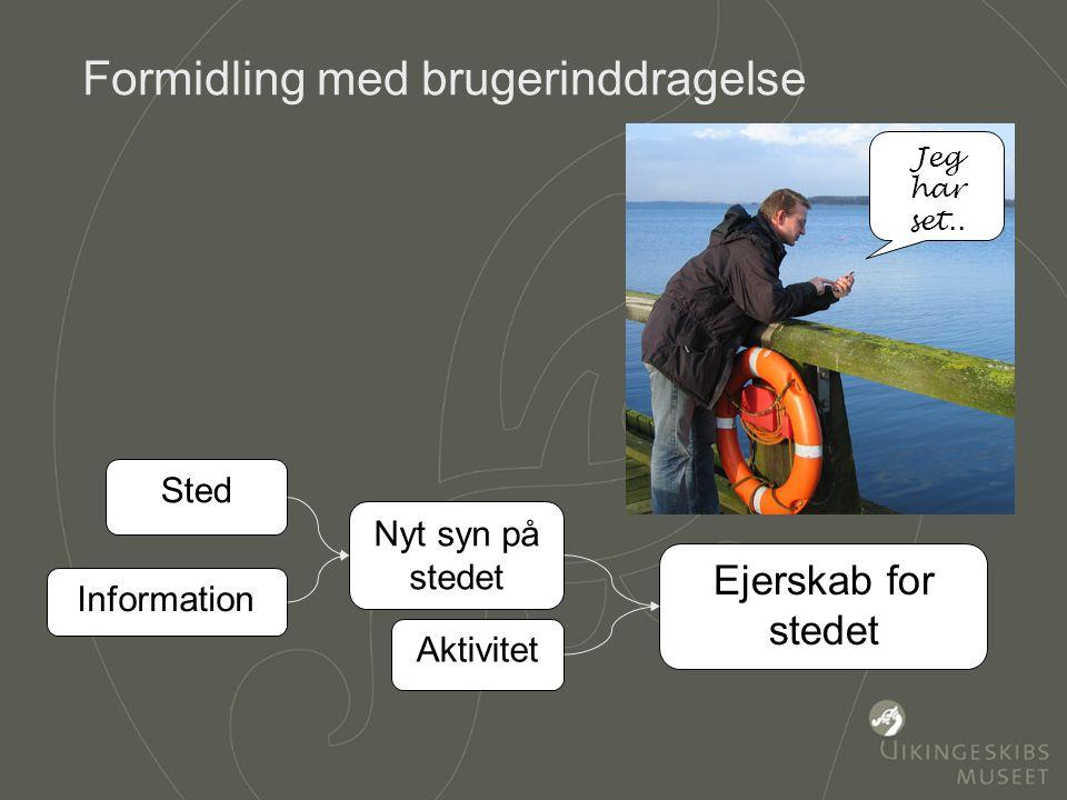 Martin Brandt Djupdræt Vikingeskibsmuseet Lokationsbestemt formidling Sted Information Nyt syn på sted