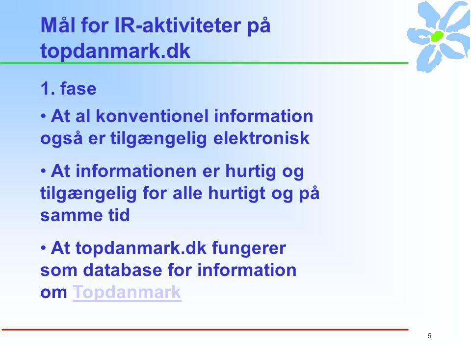 4 IFKA-undersøgelse 2000 Det mente erhvervs- journalisterne om hjemme- sider