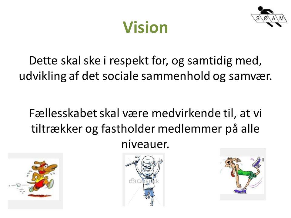 Vision Dette skal ske i respekt for, og samtidig med, udvikling af det sociale sammenhold og samvær.
