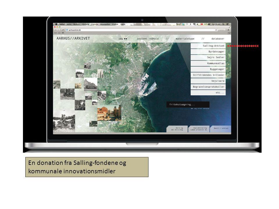 En donation fra Salling-fondene og kommunale innovationsmidler