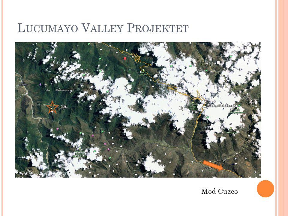 L UCUMAYO V ALLEY P ROJEKTET Mod Cuzco