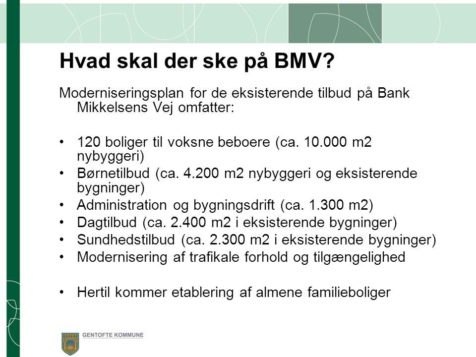 Hvad skal der ske på BMV.