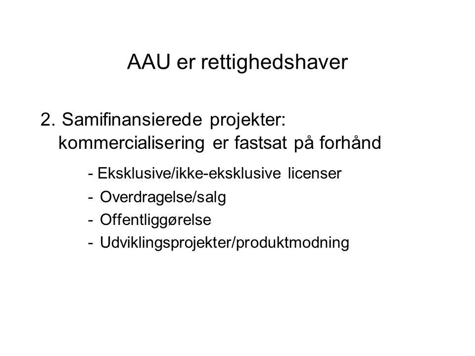 AAU er rettighedshaver 2.