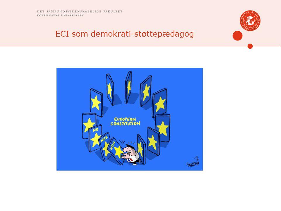 ECI som demokrati-støttepædagog
