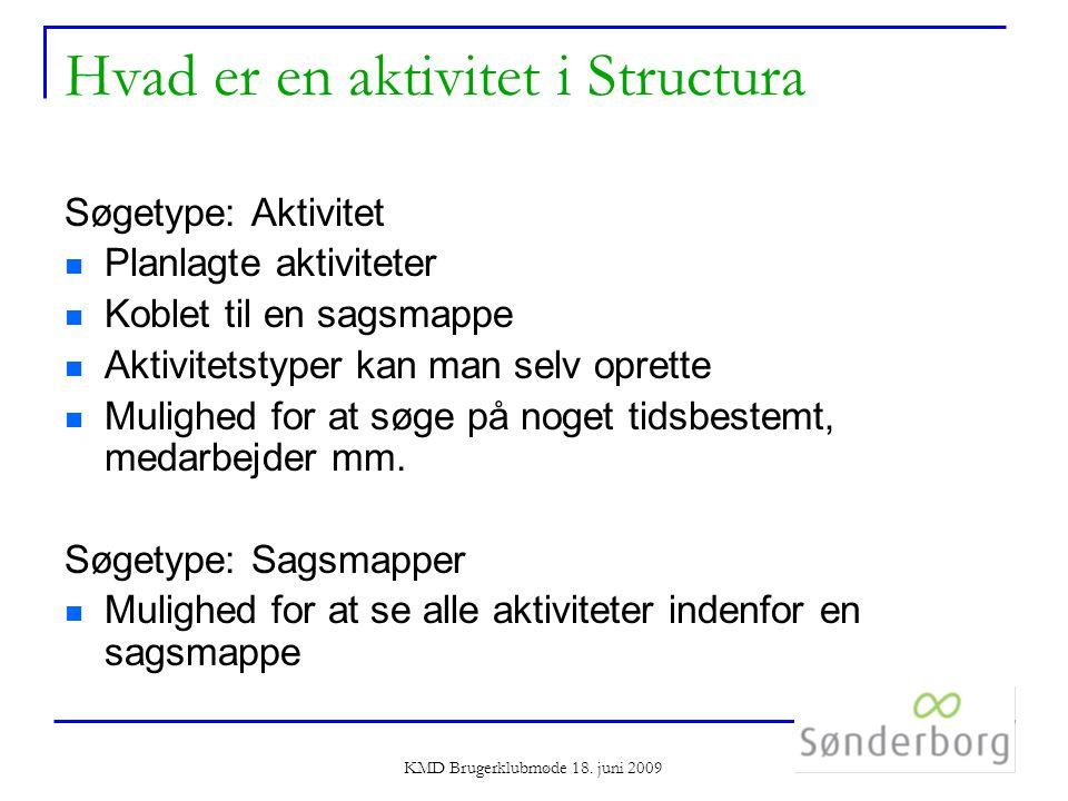 KMD Brugerklubmøde 18.
