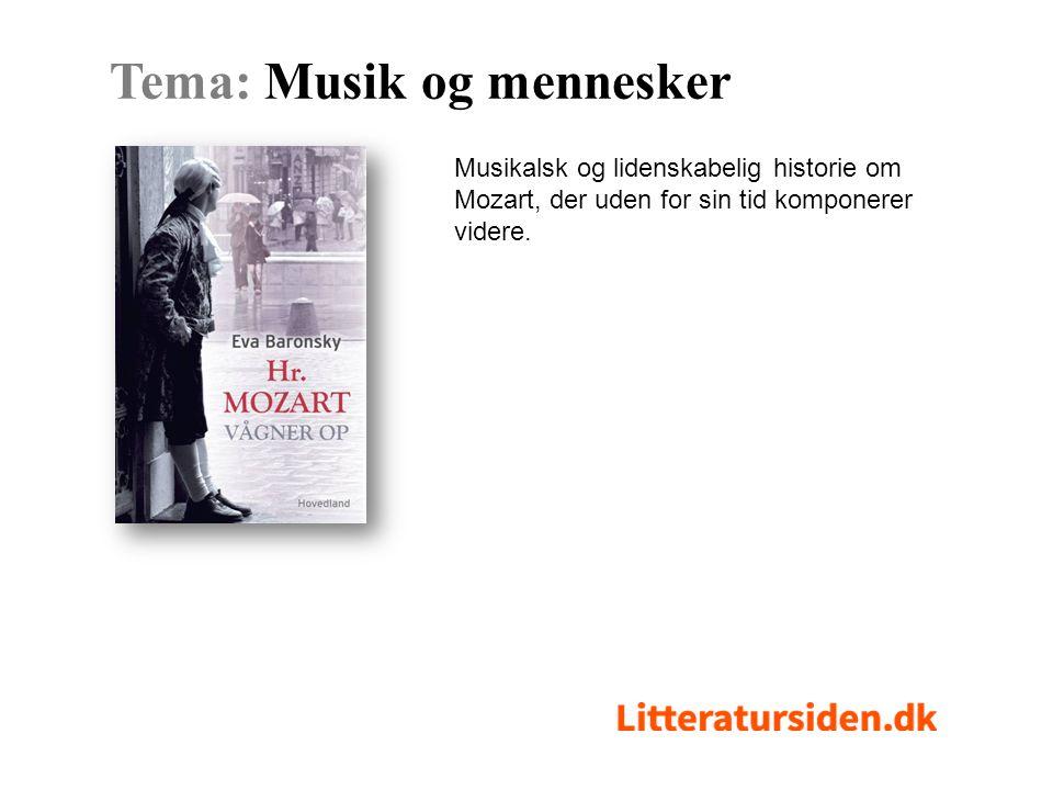 Musikalsk og lidenskabelig historie om Mozart, der uden for sin tid komponerer videre.