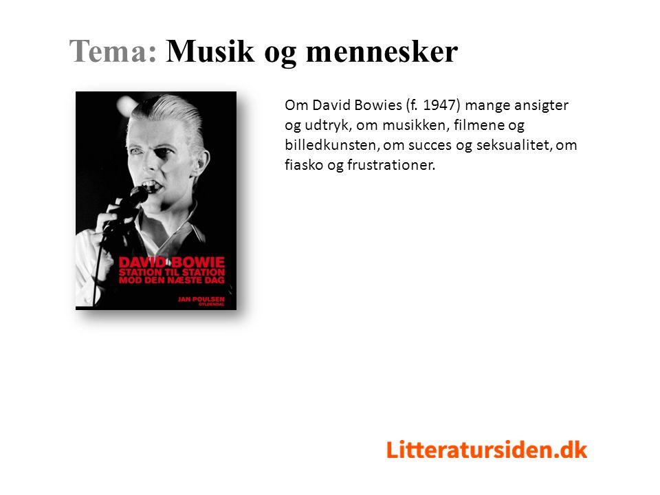 Om David Bowies (f.
