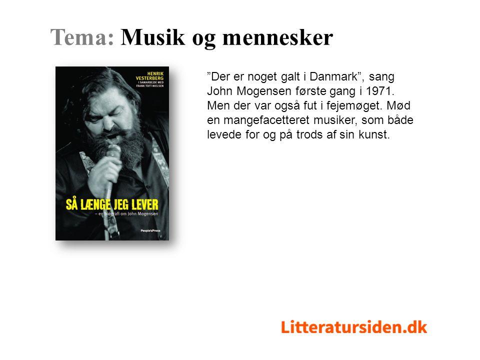 Der er noget galt i Danmark , sang John Mogensen første gang i 1971.