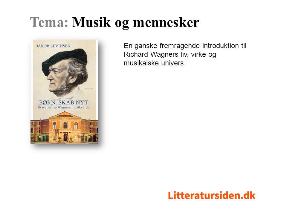 En ganske fremragende introduktion til Richard Wagners liv, virke og musikalske univers.
