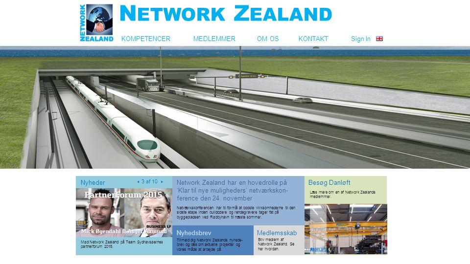 KOMPETENCER MEDLEMMER OM OS KONTAKT Sign In Nyheder  3 af 10  Besøg Danløft Læs mere om en af Network Zealands medlemmer.