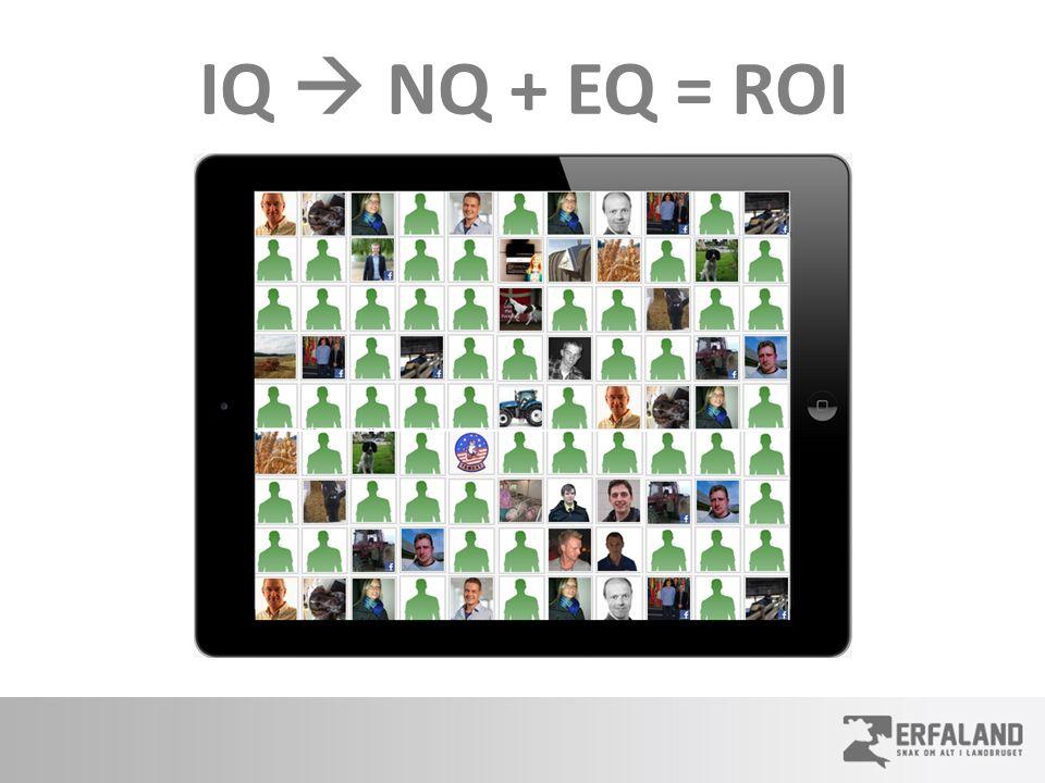 IQ  NQ + EQ = ROI