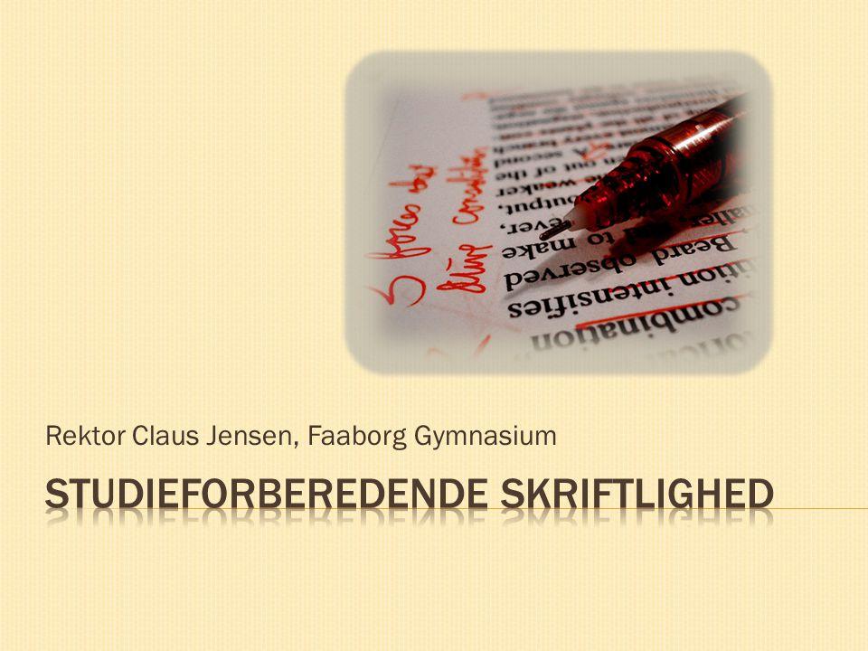 Rektor Claus Jensen, Faaborg Gymnasium
