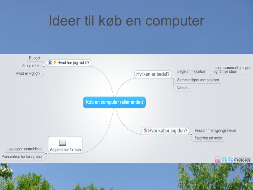 Ideer til køb en computer