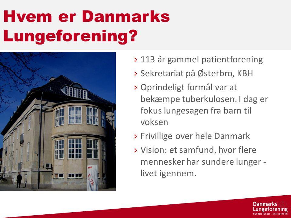 Hvem er Danmarks Lungeforening.