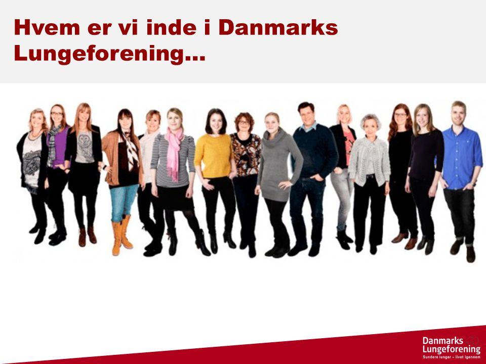 Hvem er vi inde i Danmarks Lungeforening…