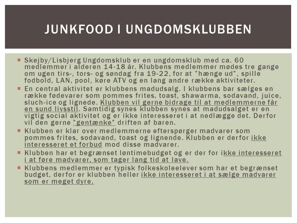  Skejby/Lisbjerg Ungdomsklub er en ungdomsklub med ca.