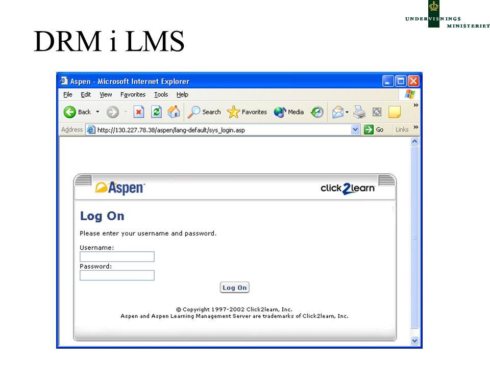 DRM i LMS