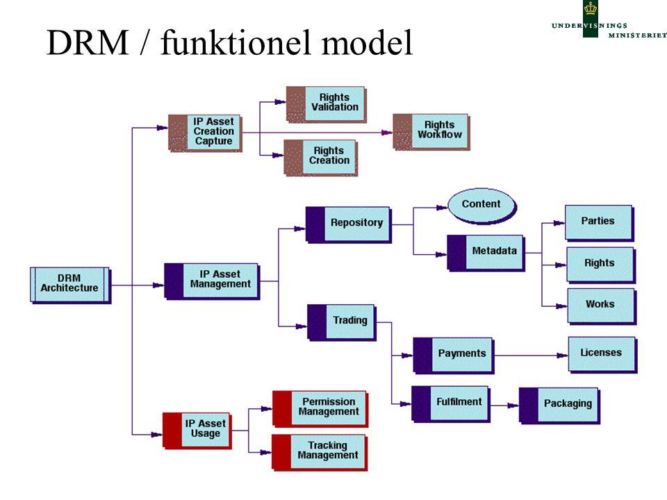 DRM / funktionel model
