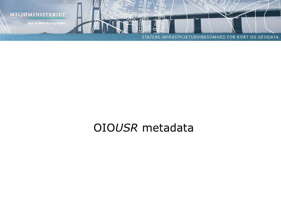 OIOUSR metadata