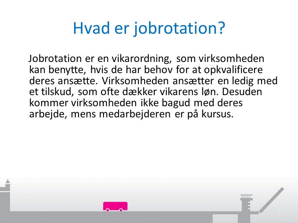 Hvad er jobrotation.