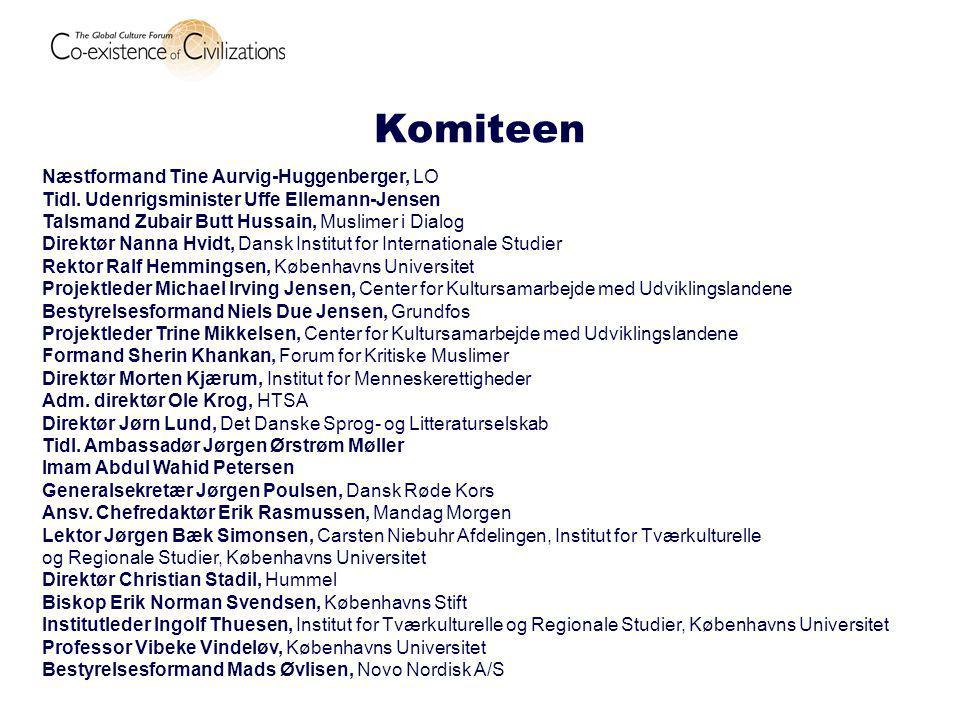 Komiteen Næstformand Tine Aurvig-Huggenberger, LO Tidl.