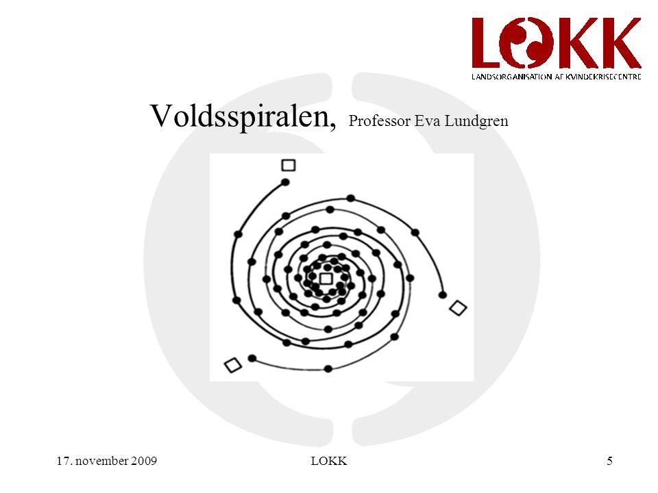 17. november 2009LOKK5 Voldsspiralen, Professor Eva Lundgren