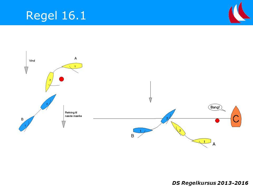 DS Regelkursus 2013-2016 Regel 16.1