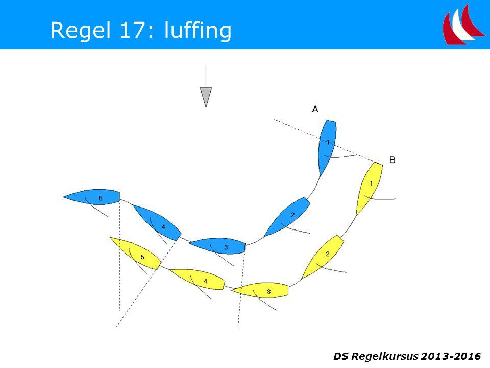DS Regelkursus 2013-2016 Regel 17: luffing