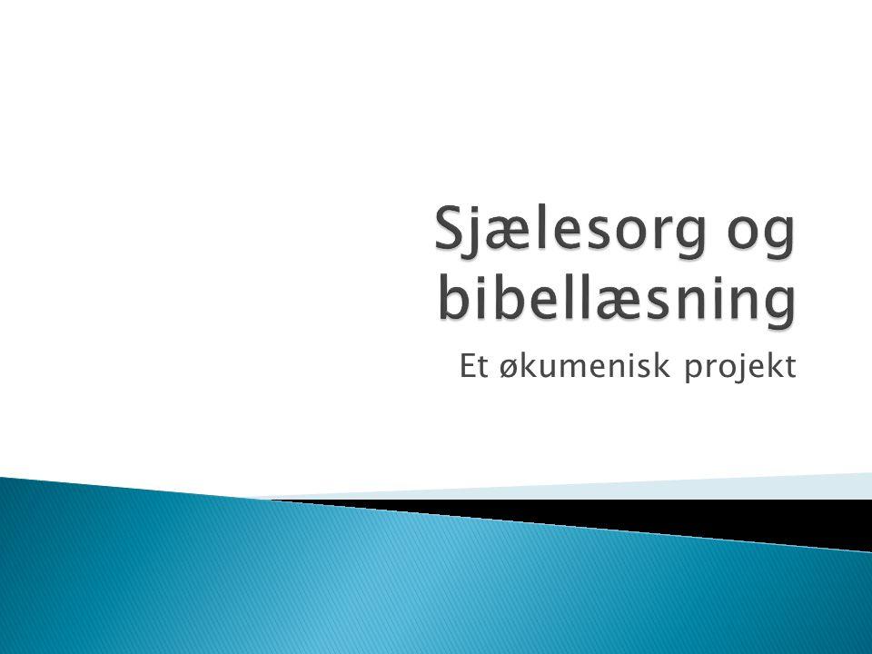Et økumenisk projekt