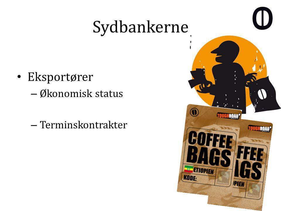 Sydbankerne Eksportører – Økonomisk status – Terminskontrakter