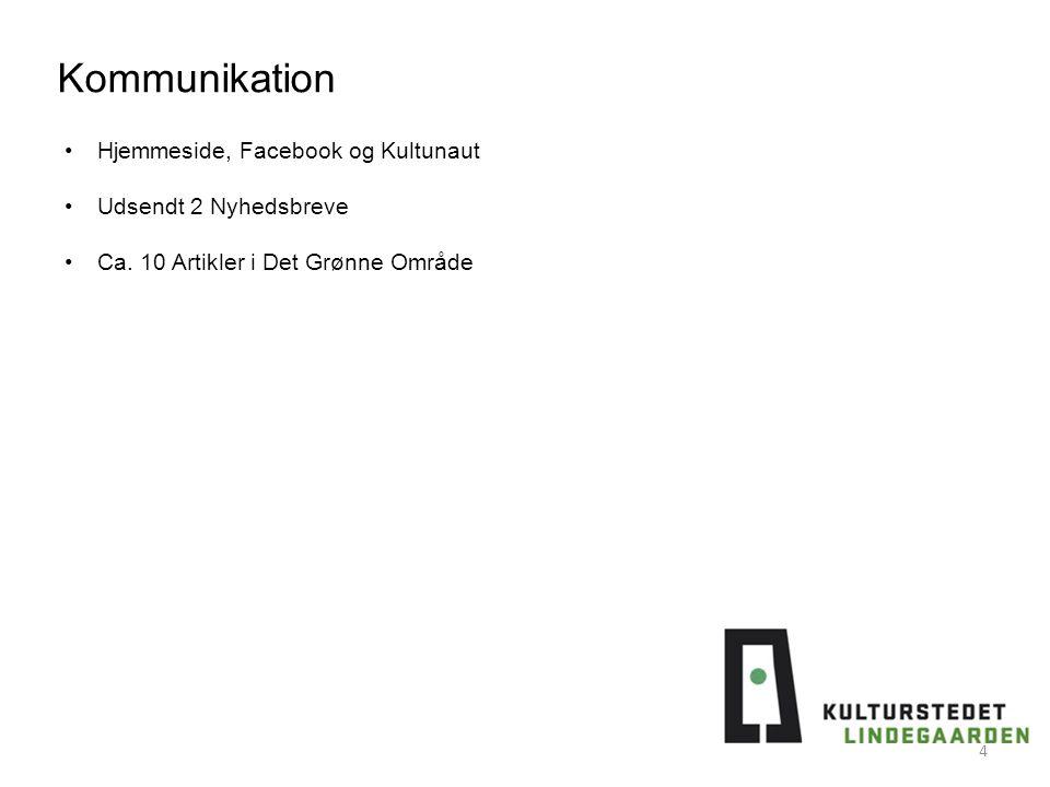 Kommunikation Hjemmeside, Facebook og Kultunaut Udsendt 2 Nyhedsbreve Ca.