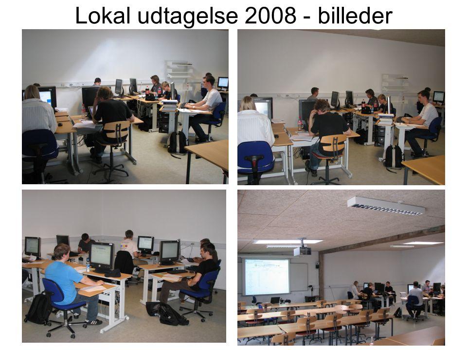 Lokal udtagelse 2008 - billeder