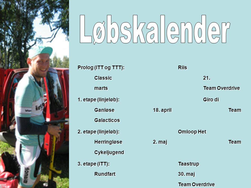 Prolog (ITT og TTT): Riis Classic 21. marts Team Overdrive 1.