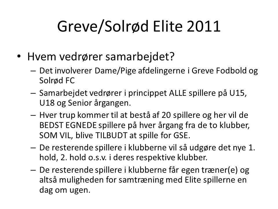 Greve/Solrød Elite 2011 Hvem vedrører samarbejdet.