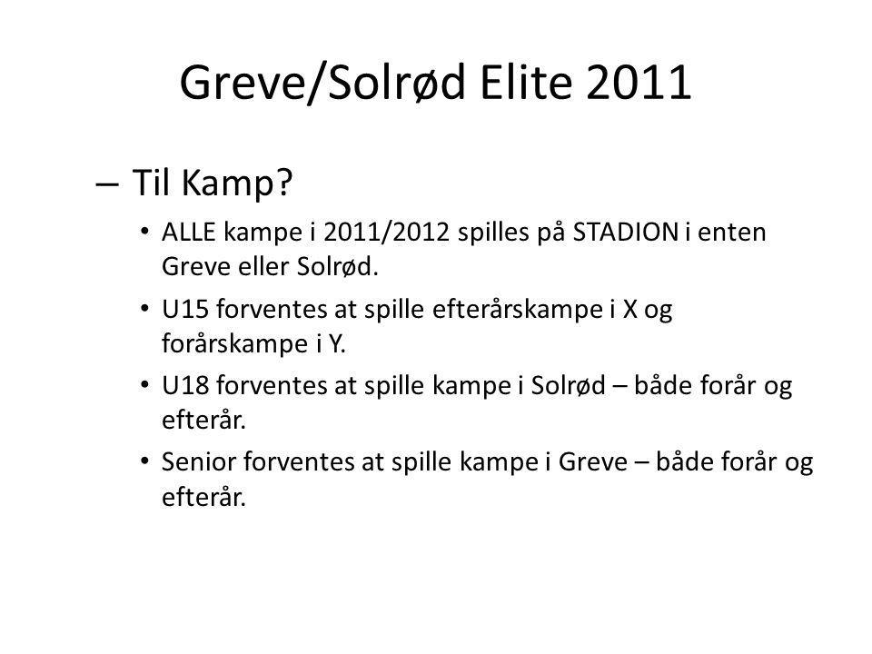 Greve/Solrød Elite 2011 – Til Kamp.